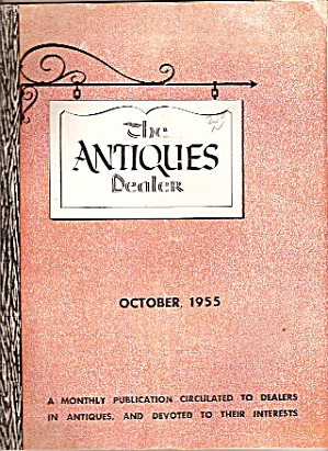 The Antiques Dealer - October 1955
