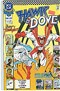Hawk & Dove - DC comics Annual - # 1  1990 (Image1)