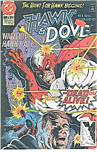 Hawk & Dove = DC comics = # 27 Sept. 1991 (Image1)