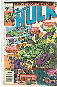 Hulk - Marvel comics - Sept. 1977  # 215 (Image1)
