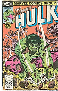 Hulk - Marvel comics group - # 245 March   1980 (Image1)