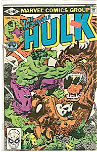 Hulk - Marvel comics - # 247  May 1980 (Image1)