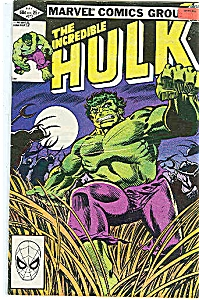 Hulk - Marvel comics - # 273  July 1982 (Image1)