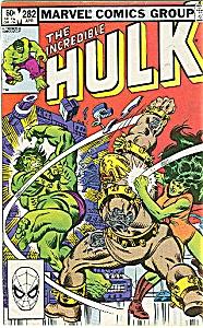 Hulk - Marvel comics - # 282 April1983 (Image1)