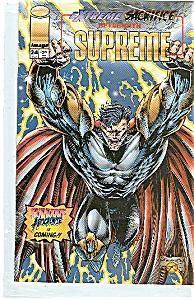 Supreme - Image comics 0    24    Feb. 1995 (Image1)