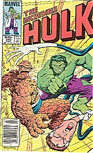 Hulk - Marvel comics - # 60 March  1984 (Image1)