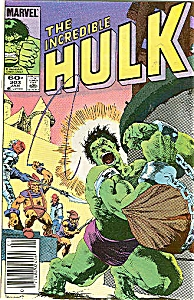 Hulk - Marvelcomic  # 303 Jan. 1985 (Image1)