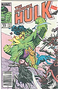 Hulk - Marvel comics -  # 310   Aug. 1985 (Image1)