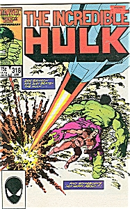 Hulk - Marvel comics - # 318  April 1986 (Image1)