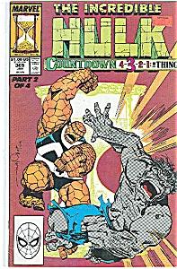 Hulk - Marvel comics - # 365 Jan. 1990 (Image1)