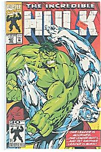 Hulk - Marvel comics # 402  Feb . 1993 (Image1)
