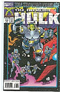 Hulk -  Marvel comics - # 413   Jan. 1994 (Image1)