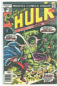 Hulk - Marvel comics - # 213  July  1977 (Image1)