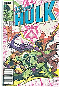 Hulk - Marvel comics - # 306  April 1985 (Image1)