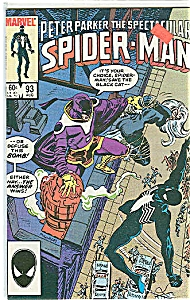 Spider man - Marvel comics - # 93  Aug.1984 (Image1)