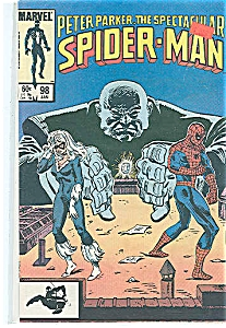 Spiderman Marvel comics - #98   Jan. 1985 (Image1)