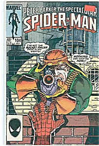 Spider-Man -  marvel comics - # 104  July1985 (Image1)