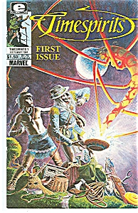 Timespirits -    E pic comics -  Oct. 1984First issue (Image1)