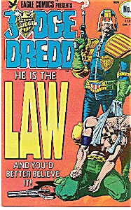Judge Dredd - Eagle comics - No. 1  Nov. 1983 (Image1)