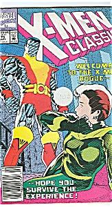X-Men classic - Marvel comics  # 75  Sept. 1992 (Image1)