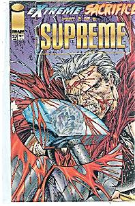 Supreme - Image comics - # 23 Jan.  1995 (Image1)