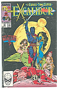 Excalibur - The Cross-time Caper - Marvel Comics #16