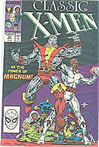 Classic X-Men = Marvelcomics - #25 Sept.  1988 (Image1)