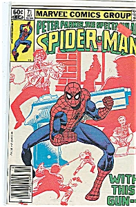 Spider Man - Marvel comics group - # 7l  Oct. 1982 (Image1)
