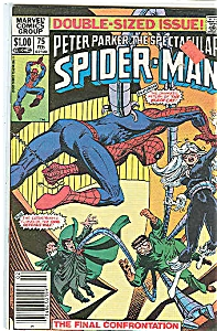 Spider Man - Marvel comics group - # 75 Feb.  1983 (Image1)
