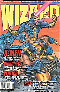 WIZARD  = The Guide to comics -49  Sept. 1995 (Image1)