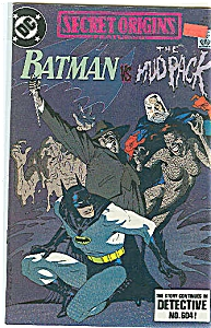 Batman - DC comics - Copyright 1989 (Image1)