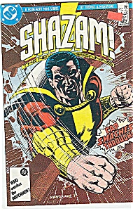 Shazam - DC comics - # 4  July 1987 (Image1)