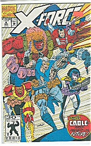 X-Force - Marvel comics - # 8 March 1992 (Image1)