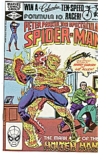 Spider-Man -Marvel comics group - # 60   Feb 1982 (Image1)