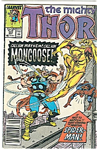 Thor - Marvel comics  -  # 391  May  1988 (Image1)