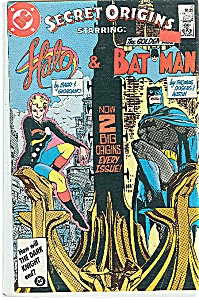 Halo & Batman - DC comics - #  6  Sept. 1986 (Image1)