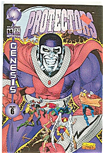 Protectors - Malibu comics - # 14    Occt. 1993 (Image1)