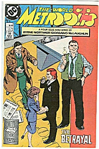 The World of Metropolis -  DC comics - # 88  August 198 (Image1)