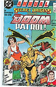 Street Origins - DC comics -  Annual  # 80  1987 (Image1)