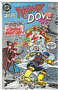 Hawk& Dove - DC comics - # 21 Feb. 1991 (Image1)