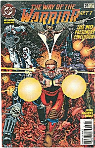 Warrior  - DC comics - # 34    Sept  1995 (Image1)