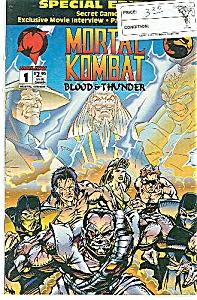 Mortal Kombat - Malibu comics- #l  Nov. 1994 (Image1)