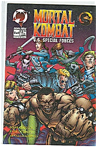 Mortal Kombat - Malibu comics - # 2 of 2    Feb. 1995 (Image1)