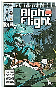 Alpha Flight annual -Marvel comics - # 2  1987 (Image1)