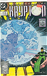 Krypton - DC comics - # 3  Feb. 1988 (Image1)