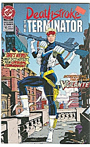 The Terminator - DC comics   # 10  May  1992 (Image1)
