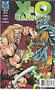 X-0 Manowar - Valiant Comics 0- #64 May 1996