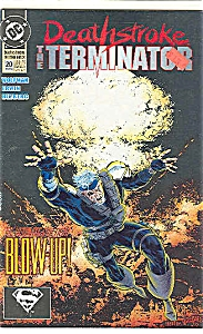 The Terminator - DC comics -  # 20  March  1993 (Image1)