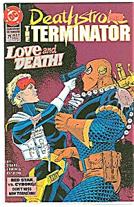 The Terminator - DC comics - 21  April 1993 (Image1)