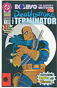 The Terminator - DC comics - 1992 annual  # l (Image1)